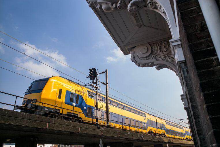 De DDZ-trein. Beeld Jiri Buller