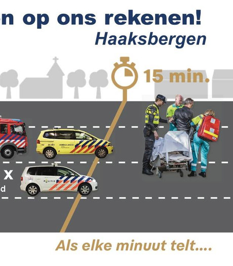 Politie in Twente meldt nu elke maand hoe vaak agenten op tijd of te laat zijn