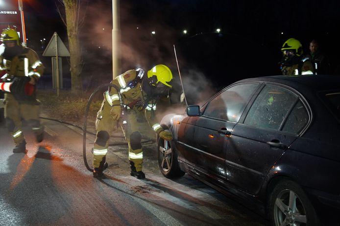 De autobrand in Zevenaar