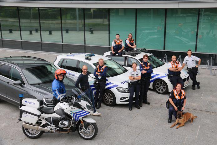politie Kruibeke-Temse