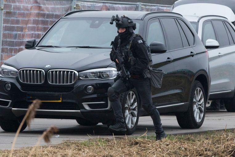 Hulpdiensten oefenden in 2017 op het Zeeburgereiland voor het scenario van een terroristische aanslag in Amsterdam. Beeld ANP