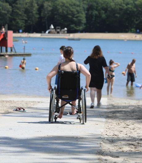 Rolstoelpad maakt Hulsbeek stuk toegankelijker voor mindervaliden