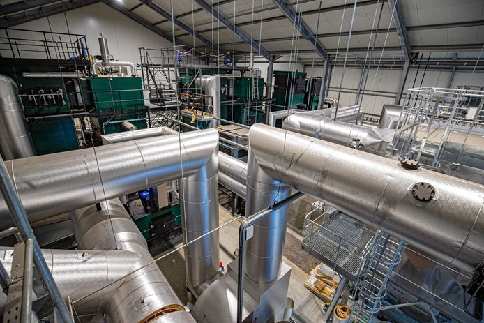 Donderdag wordt de nieuwe biomassacentrale in de Koekoekspolder officieel geopend.