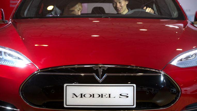 Tesla haalt met de nieuwe topman Audi-ervaring aan boord. Beeld AP