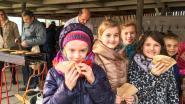 Pannenkoeken voor Maria Lichtmis bij Vrije Basisschool Tremelo