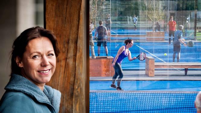 """Sabine Appelmans krijgt groen licht voor padelclub op Asphaltcosite: """"Maar het blijft een schurftig dossier"""""""