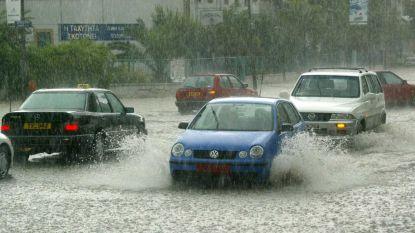 Twee doden door overstromingen op Cyprus