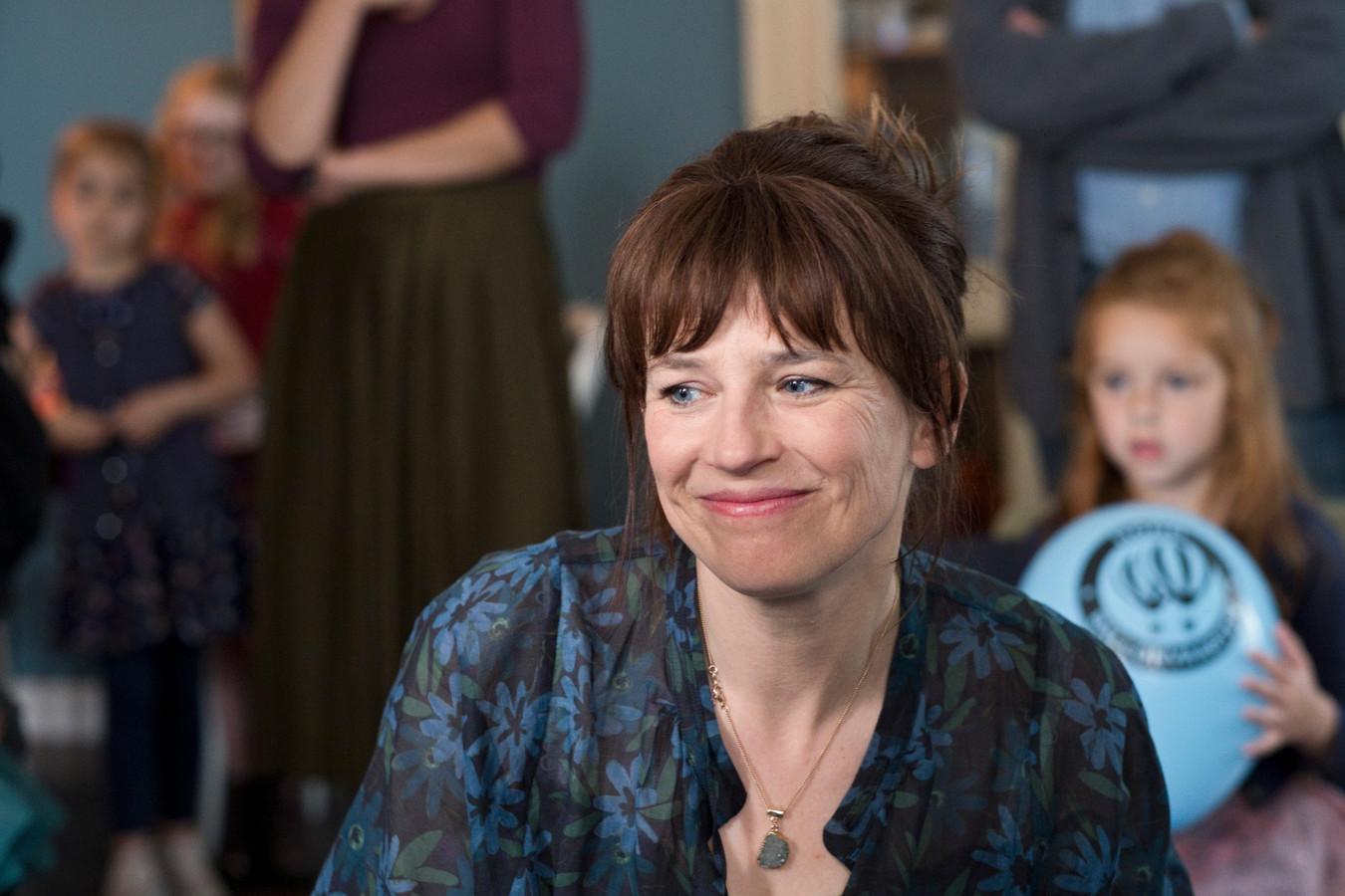 Lies Visschedijk in de nieuwe EO-dramaserie Het A-Woord.