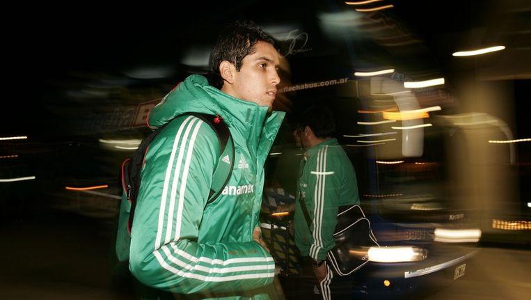 David Cabrera is een van de acht geschorste Mexicaanse internationals. Beeld reuters