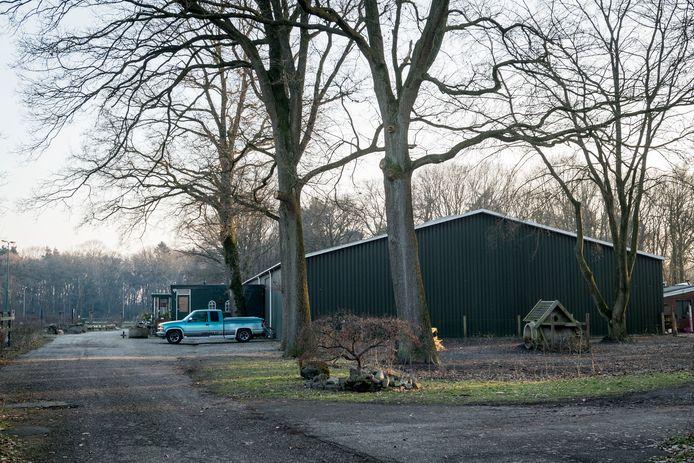 De voormalige manege Het Rutbeek.