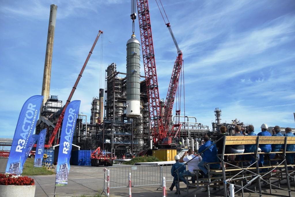 Een extra reactor wordt dit jaar aangesloten op de hydrocracker van Zeeland Refinery. Daarmee kan de installatie zuiniger werken.