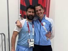 Schermster wordt in Tokio na mislopen medaille ten huwelijk gevraagd door haar coach