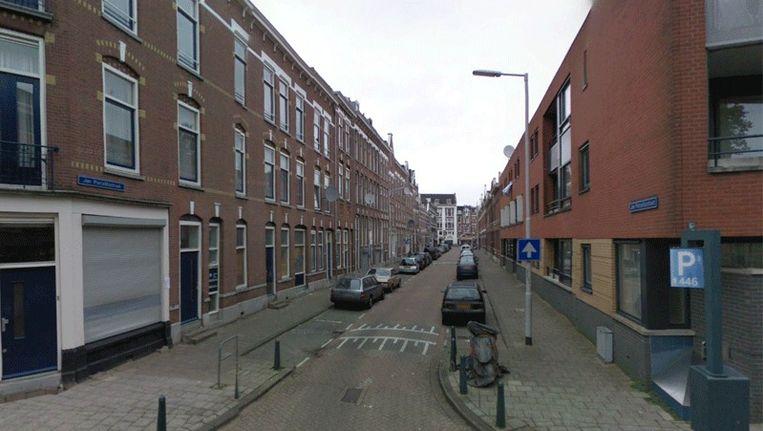 Volgens RTV Rijnmond gaat het om een woning in de Jan Porcellisstraat. Beeld Google Streetview