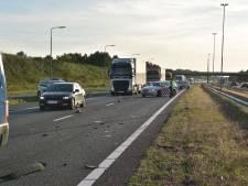 Vertraging neemt af rond Ulvenhout na ongeluk met vier auto's op A58