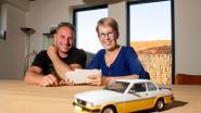 """SOS HLN bracht Nele samen met de laatste eigenaar van de Opel Ascona van haar papa: """"Doet deugd te horen wat er allemaal nog met én in de auto is gebeurd"""""""