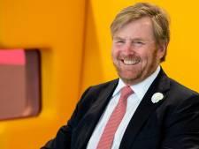 Willem-Alexander golft in Molenschot