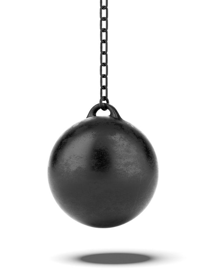 Sloopkogel - Sloop - Wreckingball - Wrecking - Ball