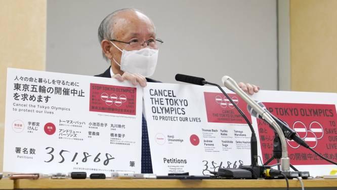 Meer dan 350.000 Japanners ondertekenen petitie tegen Olympische Spelen