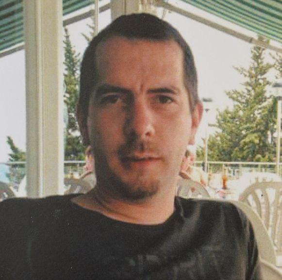 Andy D'Haeseleer, die het leven liet bij een woningbrand.