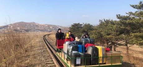 Gestrande diplomaten duwen zichzelf vanuit Noord-Korea naar Rusland