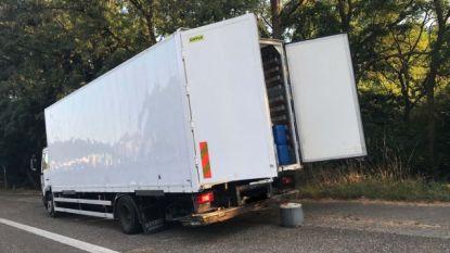Vrachtwagen vol drugsafval gedumpt in Genk