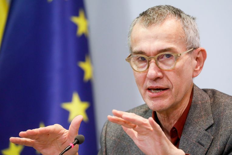 Minister van Volksgezondheid Frank Vandenbroucke (sp.a). Beeld BELGA
