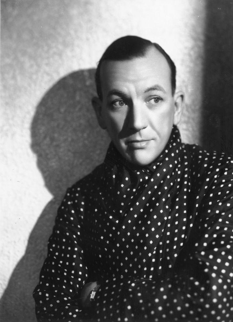 Acteur en toneelschrijver Noel Coward in 1936.  Beeld Getty Images