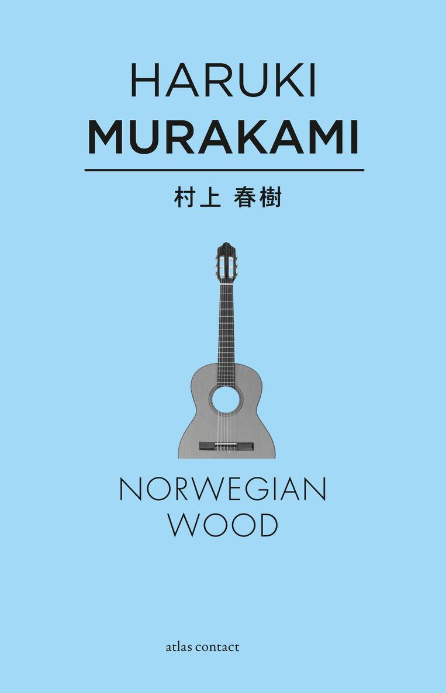 Haruki Murakami: Norwegian Wood. Ontwerp studio Vruchtvlees, 2013. Beeld Atlas Contact