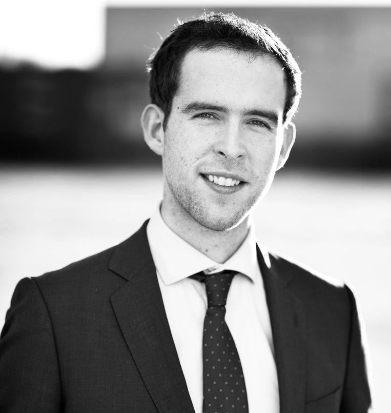 Ian Minnes (28) is adviseur bij Arcadis en JongRES-vertegenwoordiger van de RES (Regionale Energietransitie) regio Noord Holland Zuid, waarvan Amsterdam onderdeel uitmaakt. Beeld -