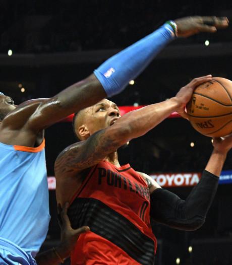 Rockets en Trail Blazers blijven winnen