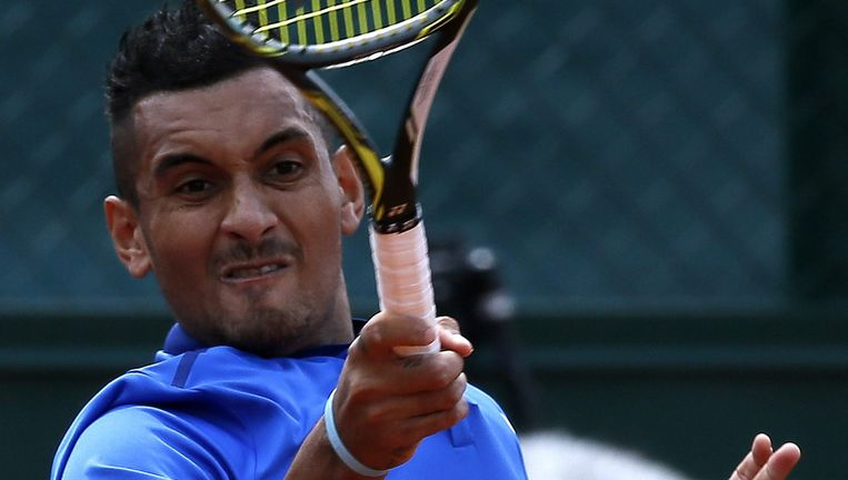 Roland Garros Handdoek.Nick Kyrgios Even Kleurrijk Als Controversieel De Volkskrant