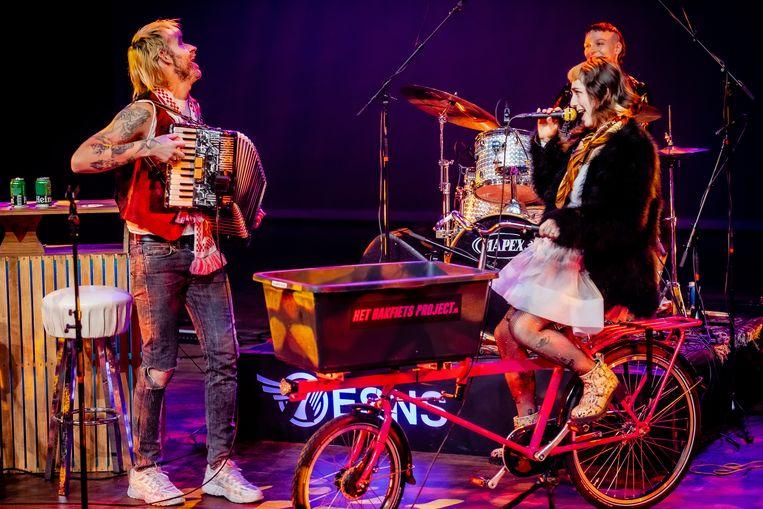 Sophie Straat op Noorderslag 2021. Beeld Ben Houdijk