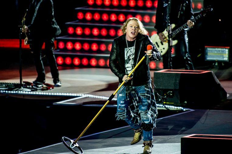 Ook Guns N' Roses waagt zich al eens aan een cover. Beeld Stefaan Temmerman