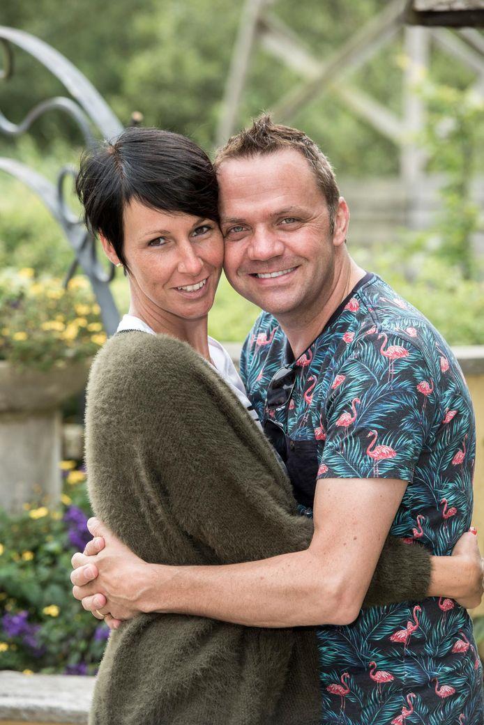 Steve en zijn vrouw Veerle.