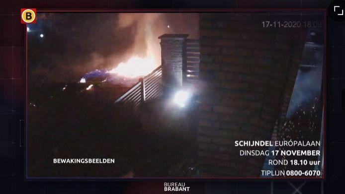 Een vuurwerkbom zorgde op 17 november vorig jaar voor flinke schade in Schijndel.
