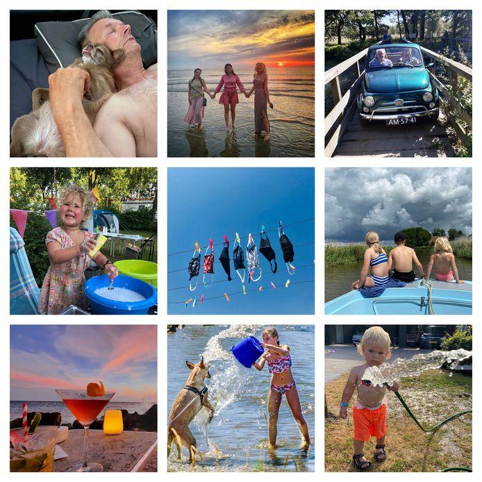 Een selectie van zomerse foto's die ingezonden zijn voor de zesde week van ED Zomerfoto 2020