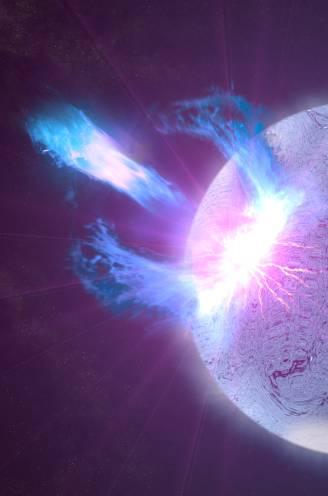 Telescopen vangen signalen op van mysterieuze flitsen in ver sterrenstelsel