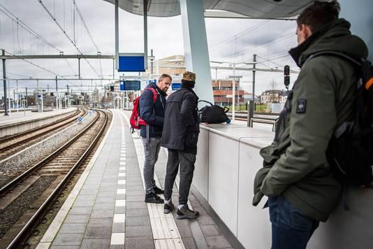 Drugscontrole op station Arnhem.