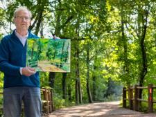 Natuur rondom Hilvarenbeek gevat in 75 aquarellen. 'Met klodders en strepen mensen aanzetten tot wandelen'