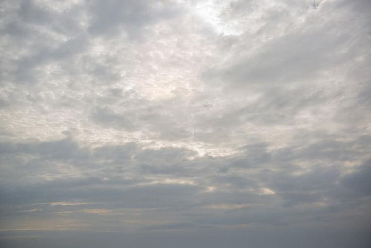 Gray clouds in the sky Beeld thinkstock