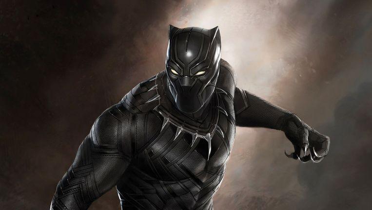 Black Panther, ook bekend als T'Challa, heerser over het fictieve Afrikaanse land Wakanda. Beeld Marvel