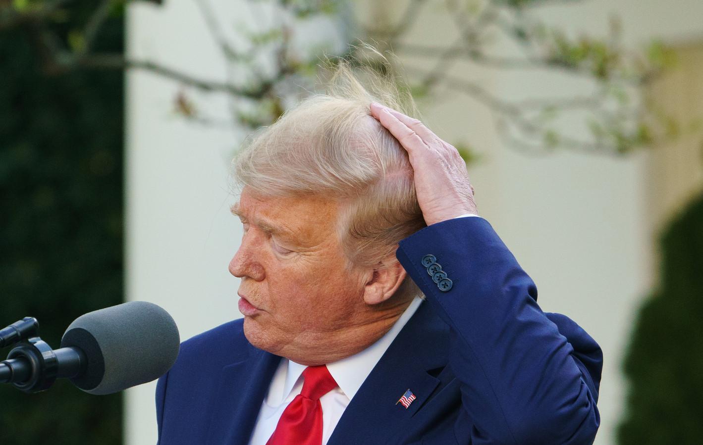 Donald Trump weigert nog altijd zijn verkiezingsnederlaag toe te geven.