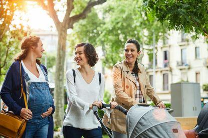 """Nu vriendinnen Nathalie Meskens en Natalia samen zwanger zijn: """"Ja, een kinderwens is besmettelijk"""""""