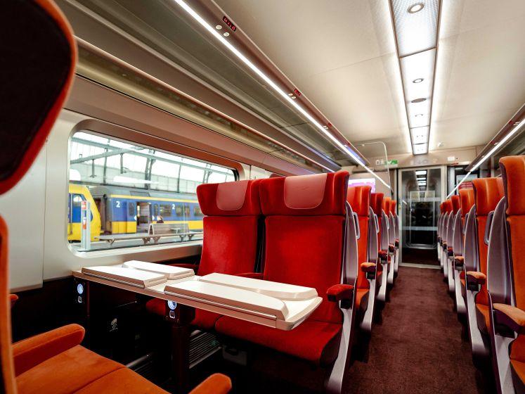 Plus spacieux, plus confortable et plus vert: voici le nouveau Thalys