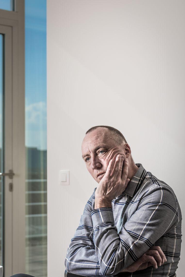 ► Wouter Vandenhaute: 'Armstrong zal niet als eregast voor de Ronde uit worden gereden.' Beeld Jan Aelberts