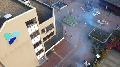 Emotioneel eerbetoon van politiezone Rupel aan zorgverleners van AZ Rivierenland