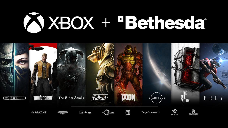 Een greep uit alle gamereeksen die Microsoft erbij krijgt. Beeld Microsoft