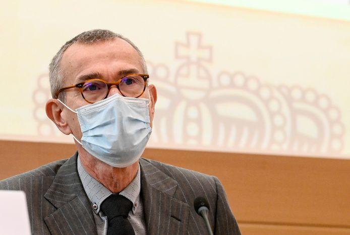 Le ministre fédéral de la Santé, Frank Vandenbroucke (sp.a).