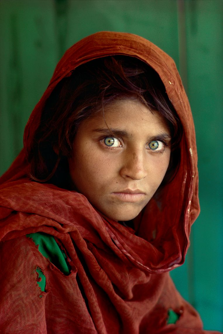 Afghaans meisje (Steve McCurry, Afghanistan, 1984). Beeld Steve McCurry
