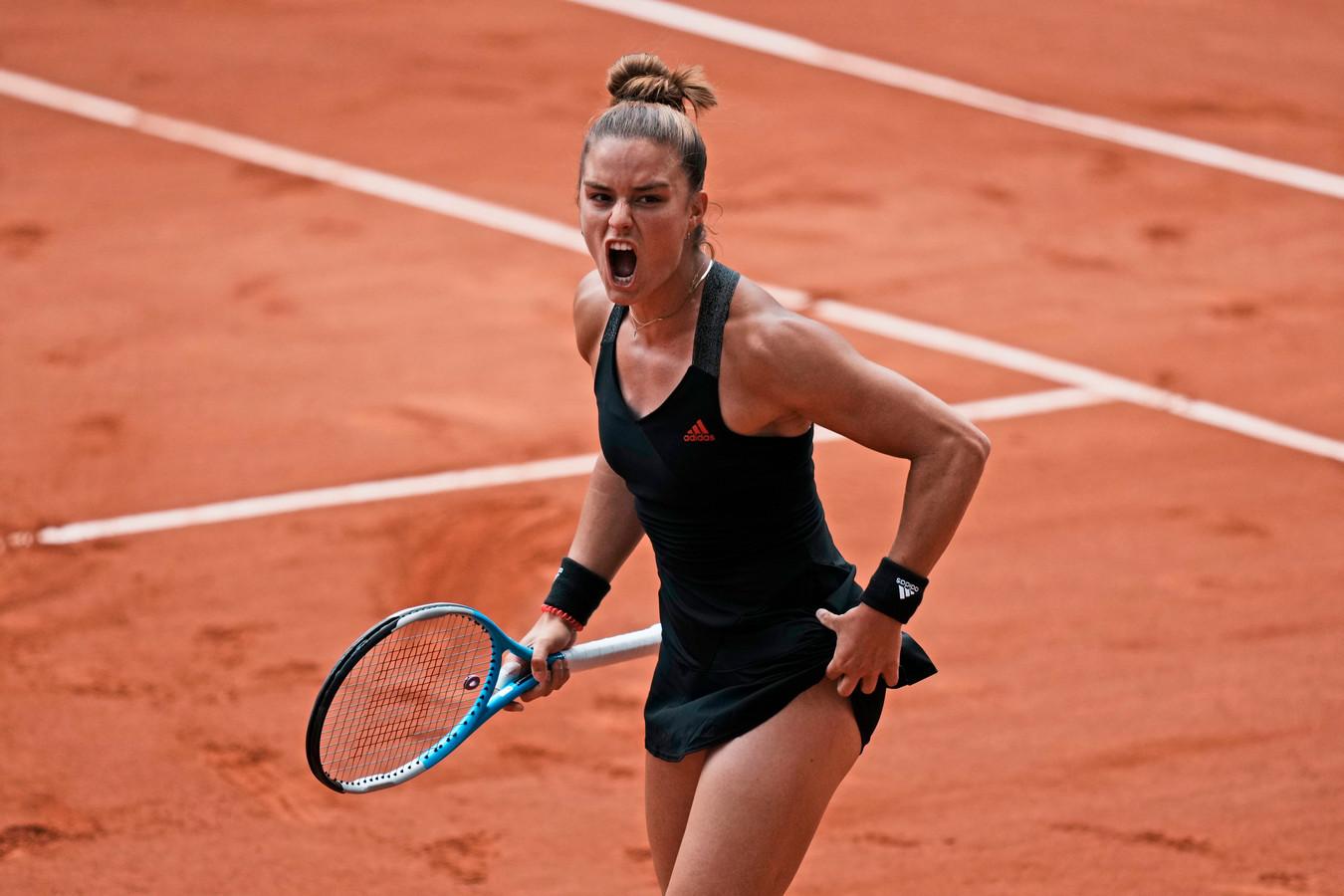 Maria Sakkari en demi-finale de Grand Chelem pour la première fois de sa carrière.